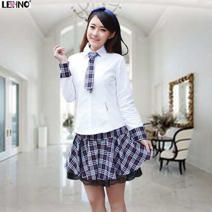 Japanese-Fashionable-School-font-b-Uniform-b-font-Long-sleeve-Plus-size-School-font-b-Girl